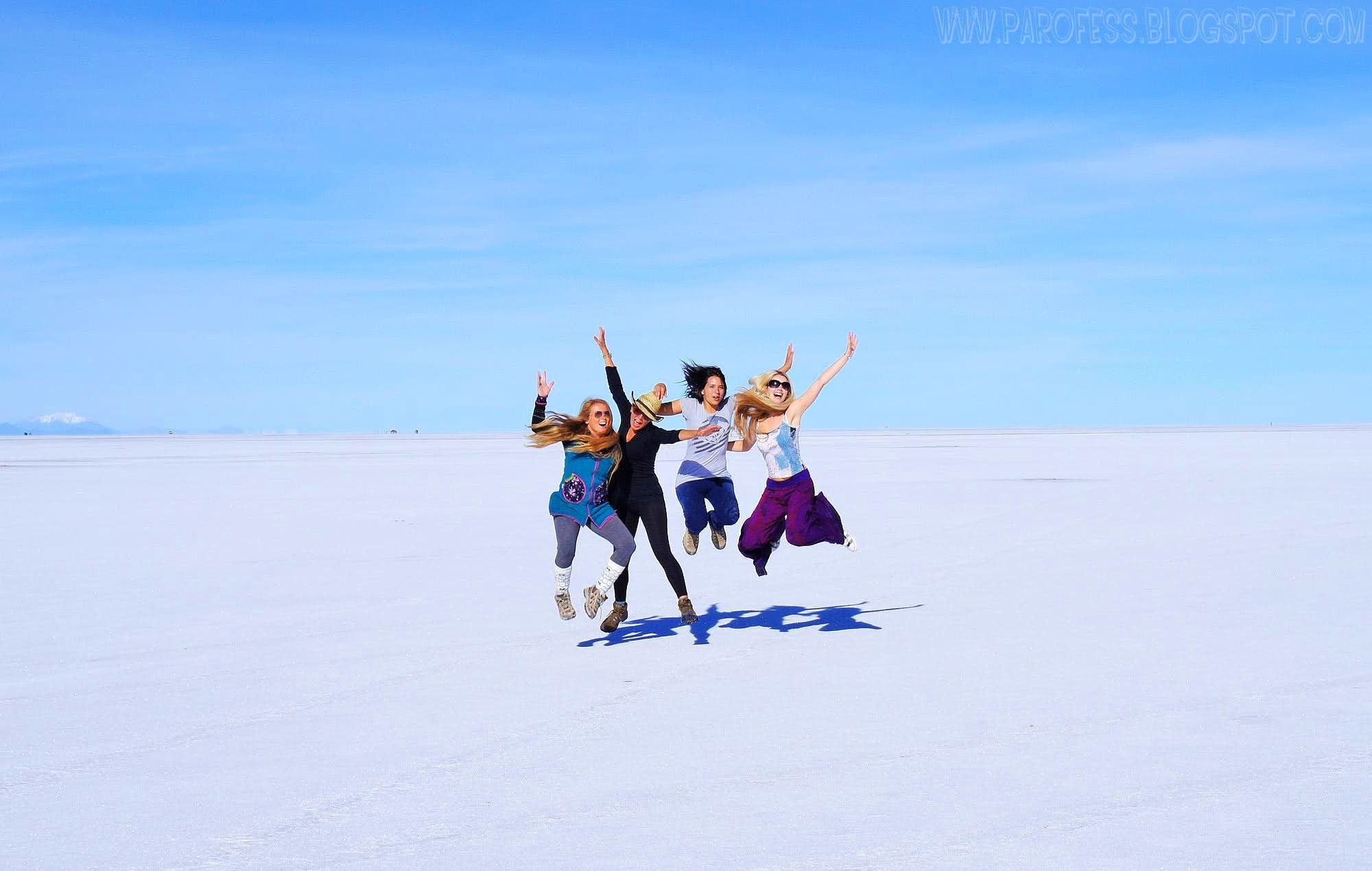 Uyuni Salt Flat - Biggest mirror on Earth
