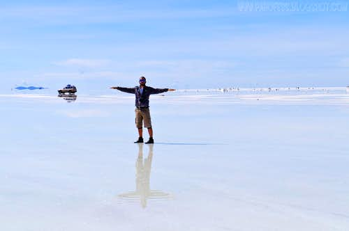 Me hiking at the salar