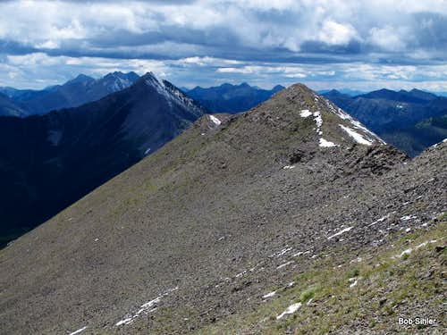 Corrugate Ridge, South Summit