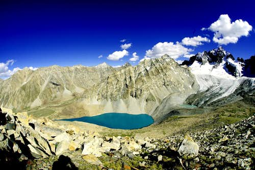 same like eye drop lake (14900 ft) Northern Pakistan Baltistan Barah Valley