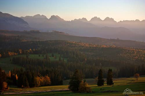 Tatra October evening