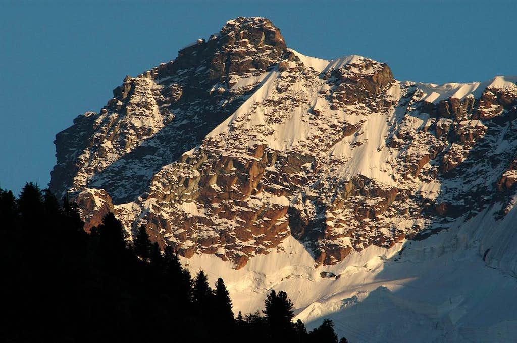 Breithorn east summit