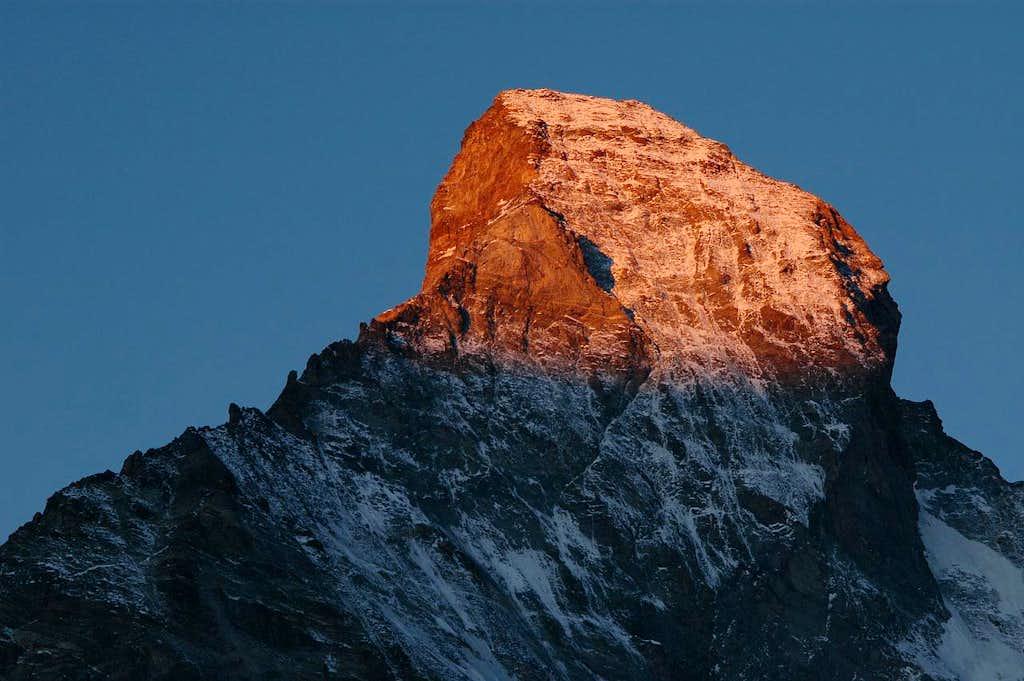 Matterhorn at sunrise