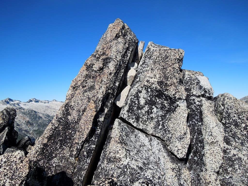 Summit of Little Granite Peak