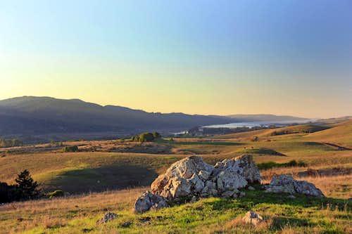 Late daylight Bolinas Ridge