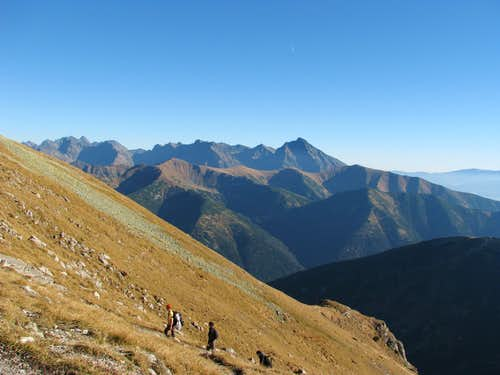 Slovak Tatras from Krzesanica