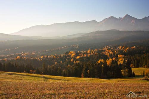 White Tatra morning