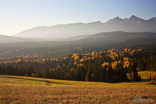 White Tatra morning