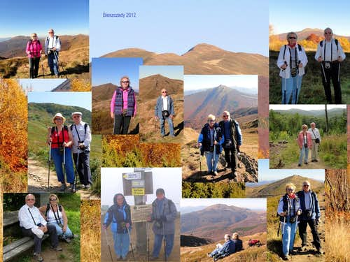 Our hikes in Bieszczady Mountains - 2012