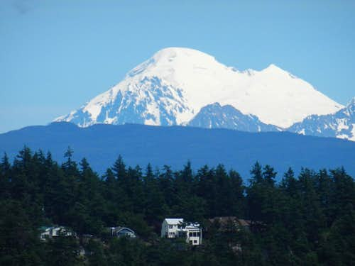 Mt. Baker from Anacortes