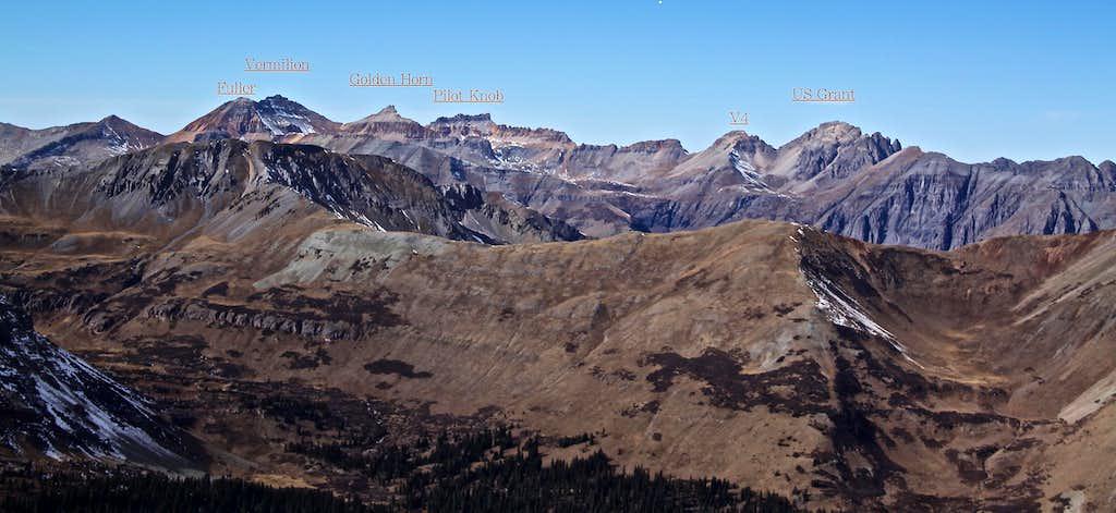 View into Ice Lake Basin