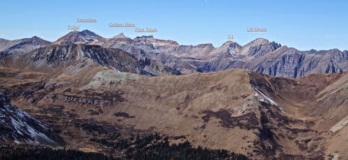View into Ice Lake Basin
