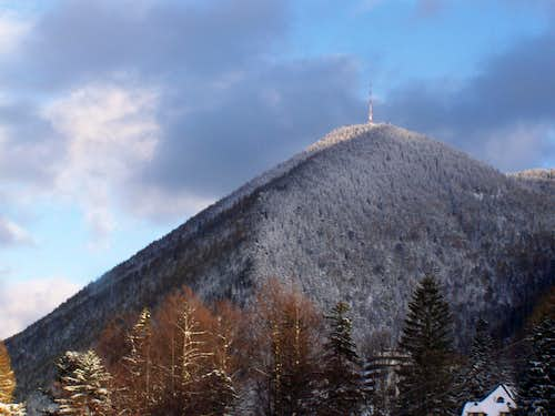 View of Sonnwendstein from Semmering Pass