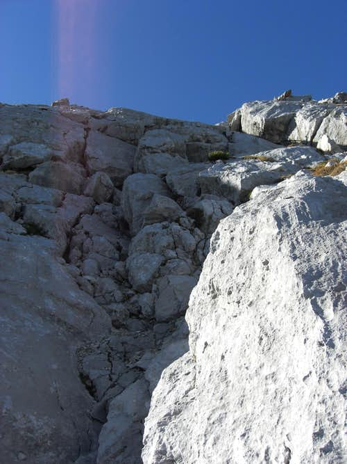 Traverse of Arnspitzen