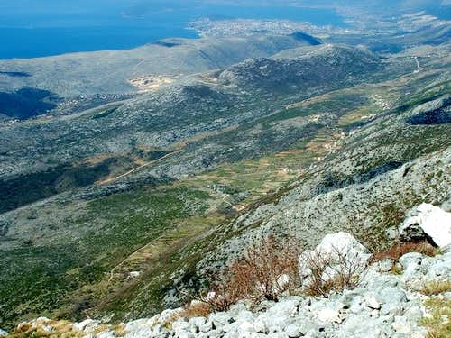 View from Kozik (1319 m) on...