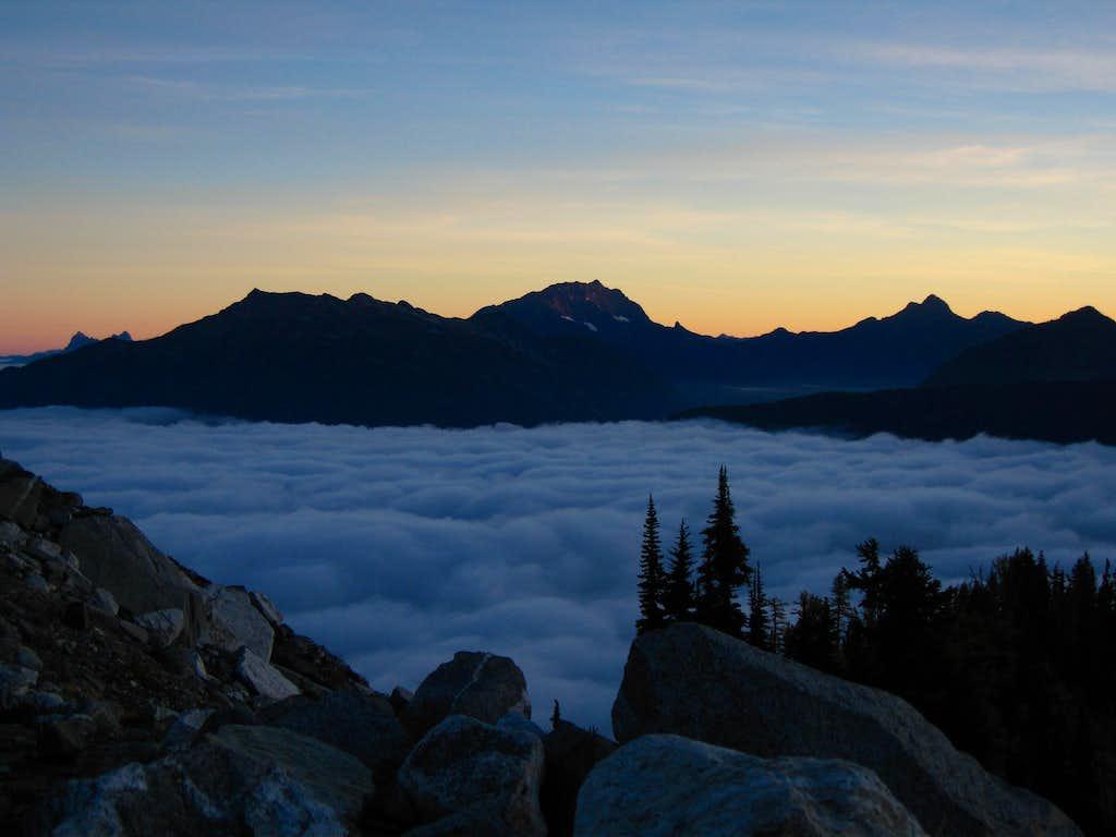Jack Mountain sunrise