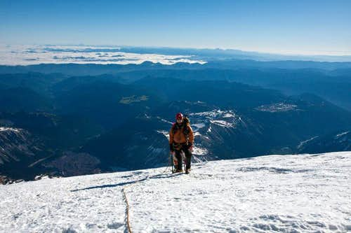 Near Rainier\'s Summit