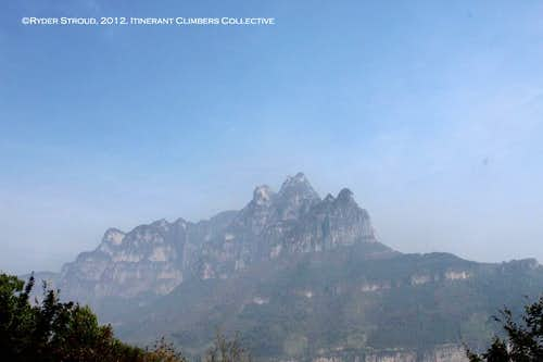 Some of the Sharp Peaks near Guoliang