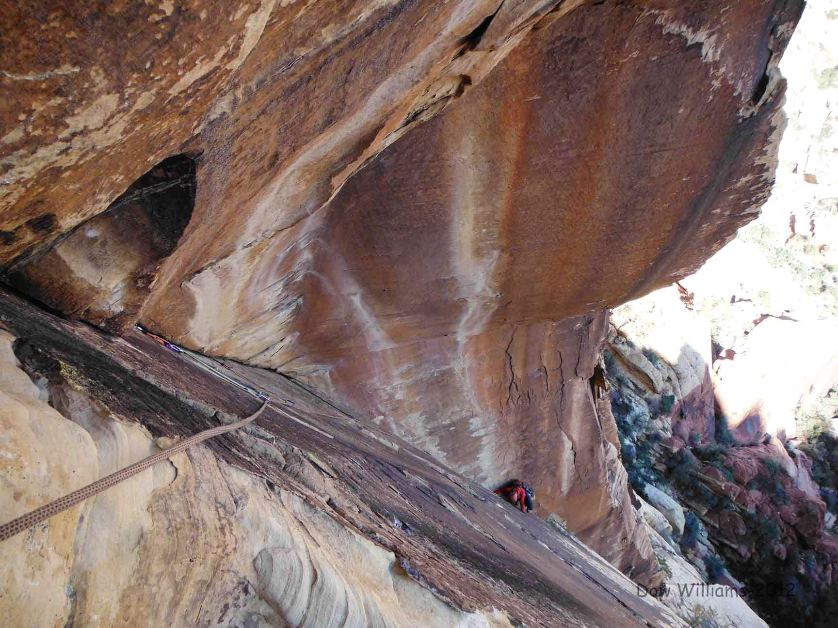 First Creek Slabs, 5.5-5.11a