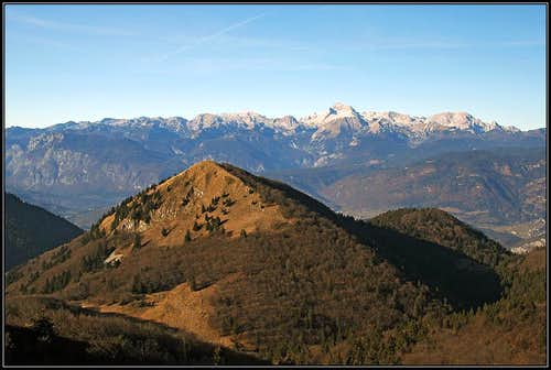Triglav from Mozic