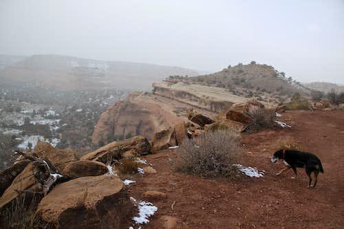 Cold November hike