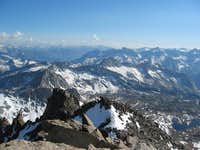 Looking southwest to Sequoia,...