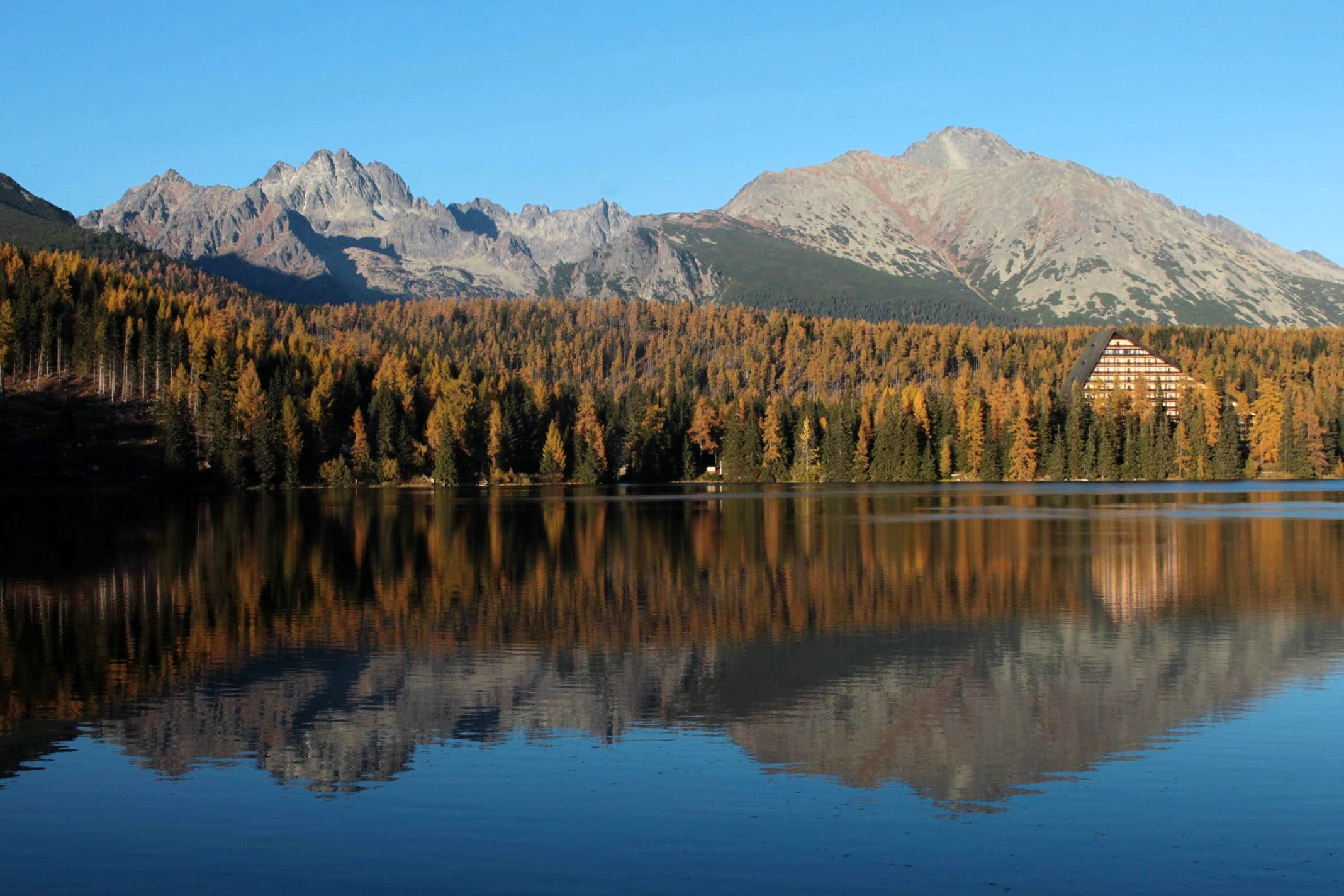 October in High Tatras