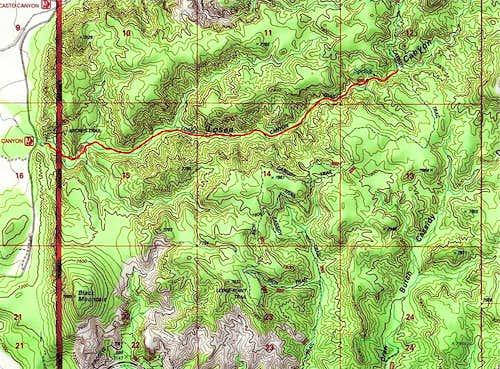 Losee Canyon Trail