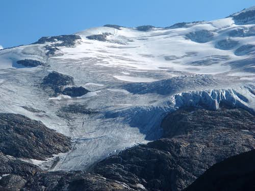 The Habach glacier