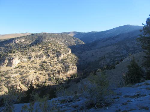 Snow Creek Canyon