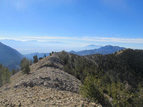 South from Summit
