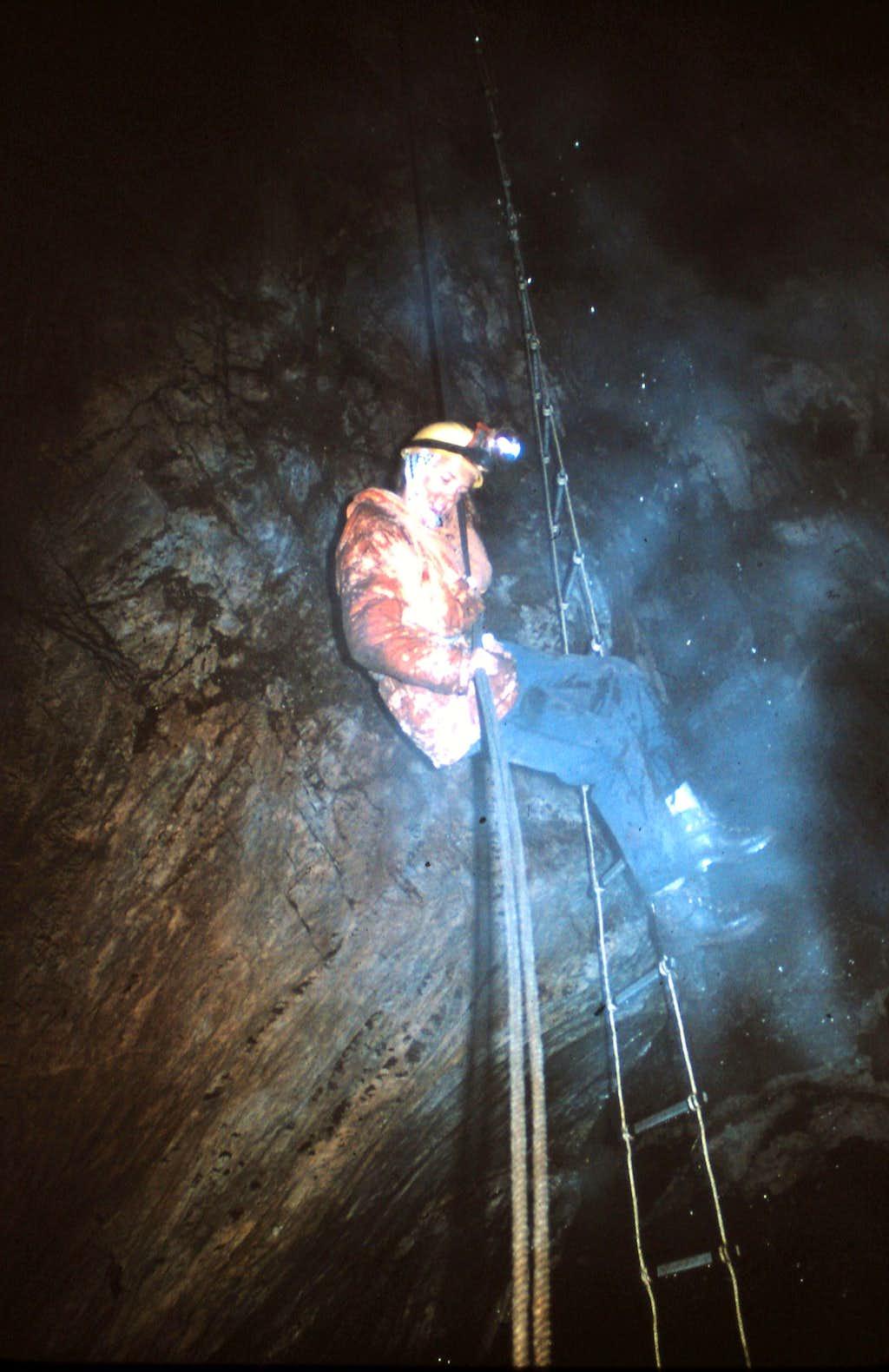 Rope Ladder Rappel