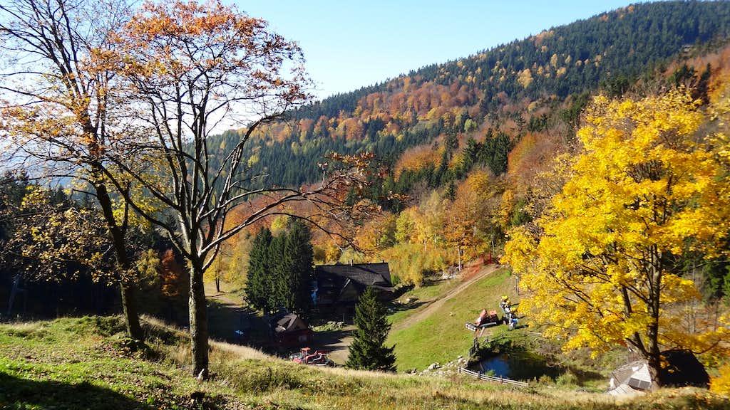 Autumn colors near Zygmuntówska hut
