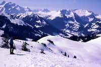 Ski Tour near near Gstaad, Switzerland