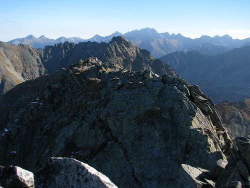On Summit of Świnica