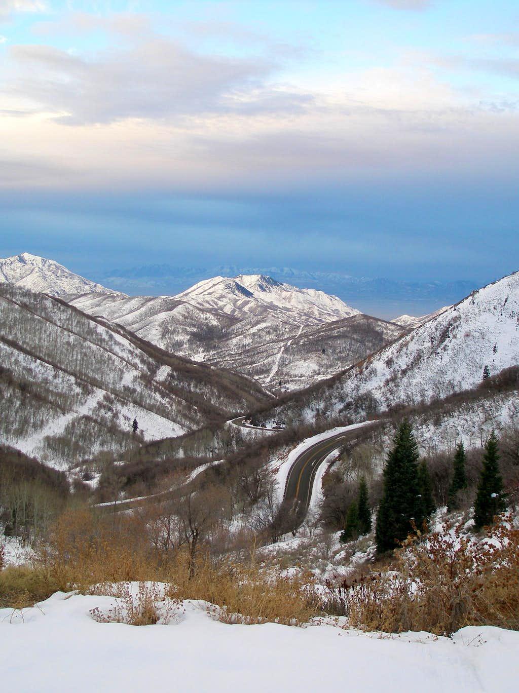 Dale Benchmark and Perkins Peak