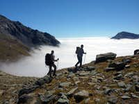 Walking over the clouds