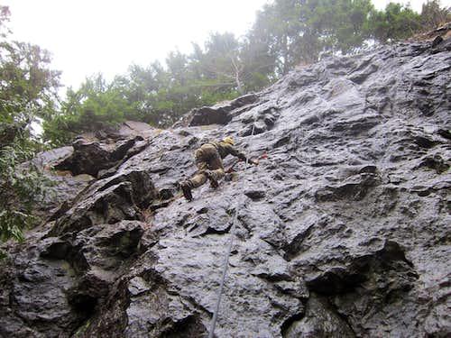 Cougar Mountain Drytooling Crag