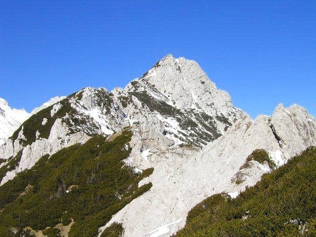 On the SE ridge of Palec. You...