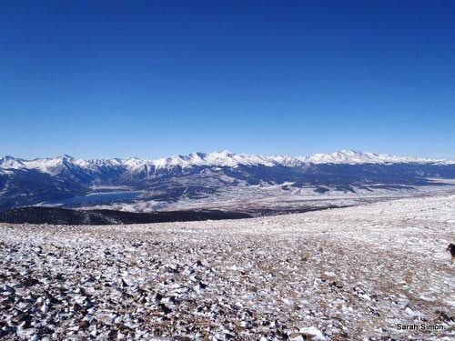 Summit Views: Mount Elbert & Mount Massive