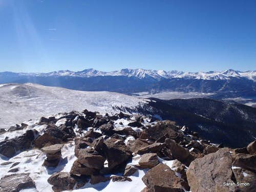 Summit Views: Southward