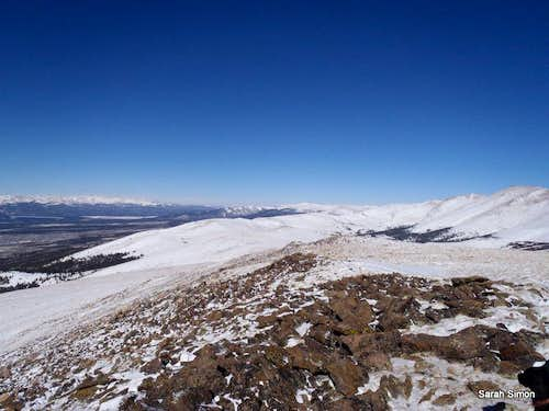 Summit Views: Northward