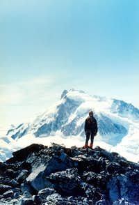 Mt. Waddington from Mt. Hickson