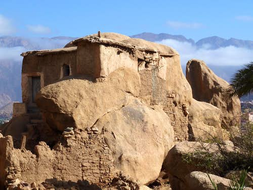 An ancient house in Tazka, near Tafraoute