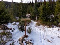 New Trailhead Sign