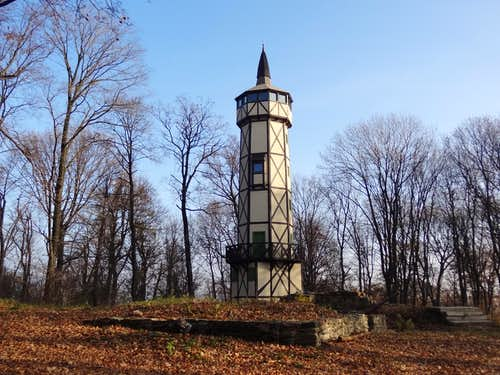 Outlook tower on Gromnik