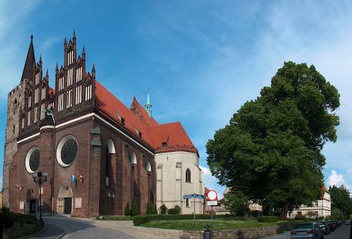 Ziębice old town centre