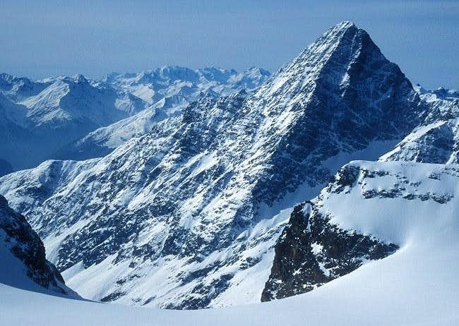 Piz Linard seen from NNE from...
