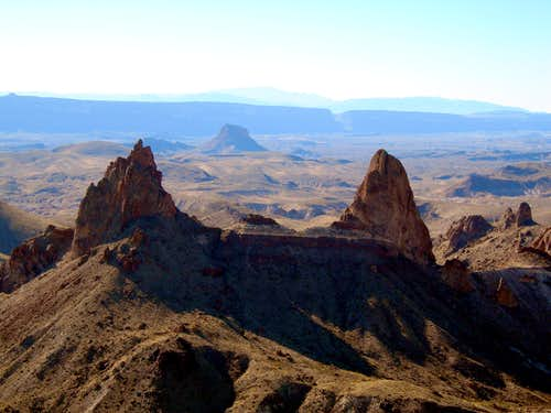 Mule Ears-Big Bend National Park, Texas