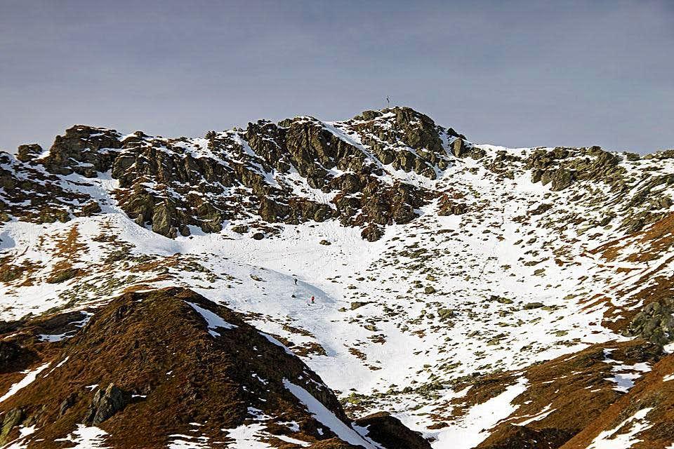Seekarspitze - summit
